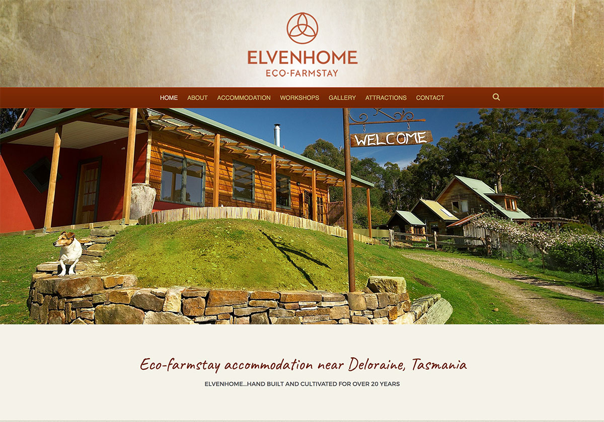 Elvenhome Farm has a new website and new branding